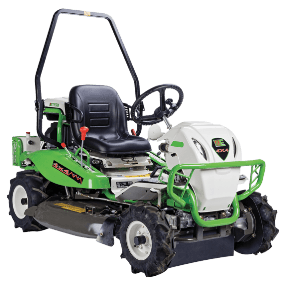 Brushcutters Power and comfort for extreme brushcutting in 4x4 version.